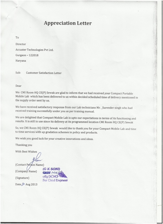 Our clients: Accuster Technologies private Limited New Delhi