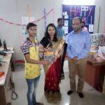 Diwali gift distribution