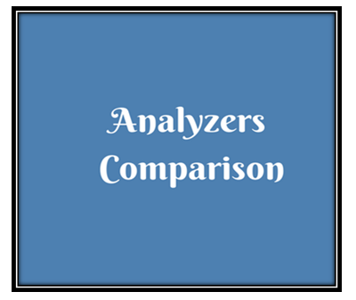 analyzers comparison